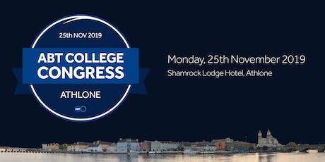 ABT College Congress 2019 tickets