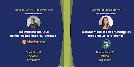 Pour les exposants: Conférences 5@7 et/ou Déjeuner