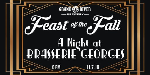 Feast of the Fall:  A Night at Brasserie Georges