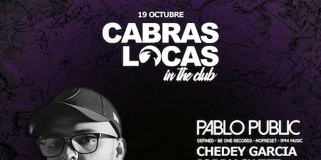 Cabras Locas in the Club tickets
