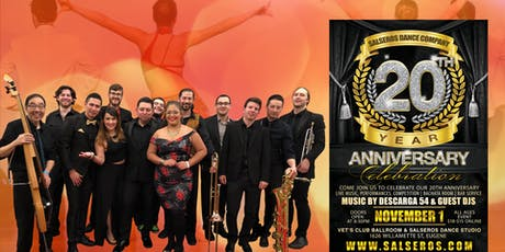 Salseros Dance Company 20 Year Anniversary  Celebration   tickets