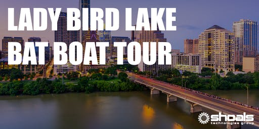 Shoals Opening Reception Party: Lady Bird Lake Bat Tour