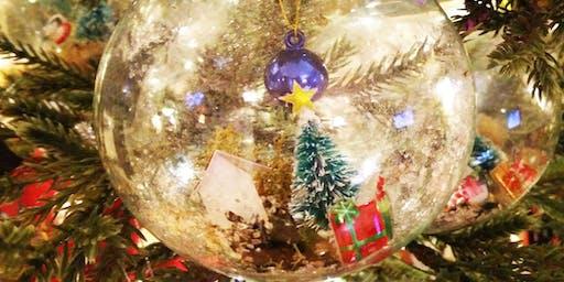 Miniature Holiday Globes Workshop