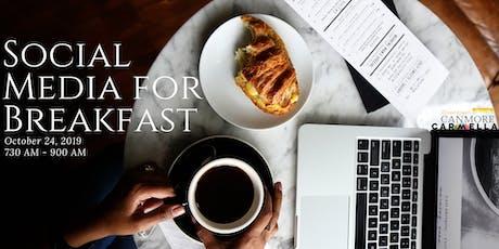 Social Media For Breakfast tickets