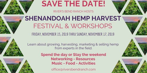 First Annual Shenandoah Hemp Harvest Festival and Workshop