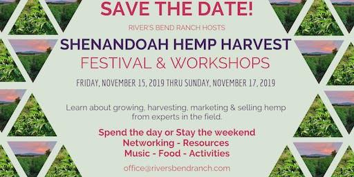 First Annual Shenandoah Hemp Harvest Festival and Workshop
