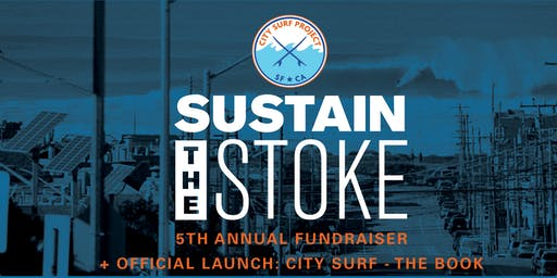 City Surf Project: 5th Annual Fundraiser and Book Launch