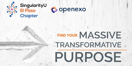 Find Your Massive Transformative Purpose (MTP) and Be Exponential tickets