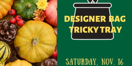 Designer Bag Tricky Tray tickets
