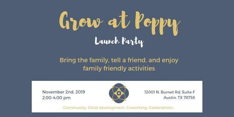 Poppy Launch Party tickets