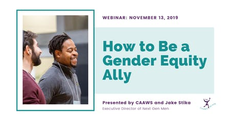 How to Be a Gender Equity Ally tickets