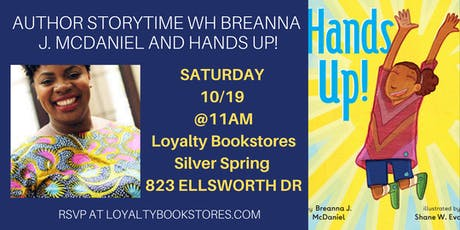 Author Storytime with Breanna J McDaniel of Hands Up! tickets