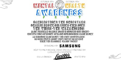 Mental Health Awareness Festival (MHA Fest)