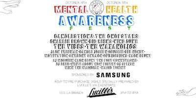Mental Health Awareness Festival (MHA Fest)