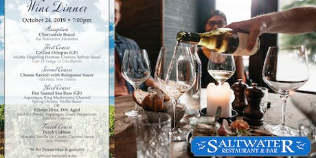 Fall Wine Dinner at Saltwater SoNo tickets