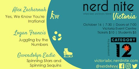 Nerd Nite Victoria October 2019 tickets