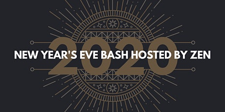 New Year's Eve Bash hosted by Zen tickets