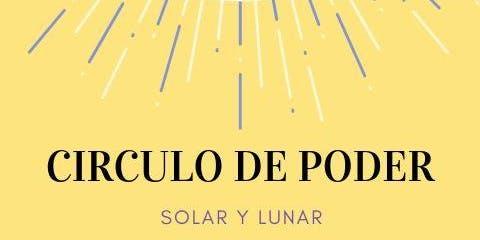 CIRCULO DE PODER SOLAR Y LUNAR