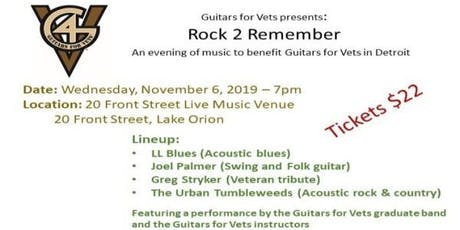 Rock 2 Remember in Detroit tickets