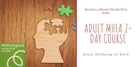 Adult MHFA 2-Day Course tickets
