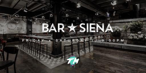 DJs at Bar Siena
