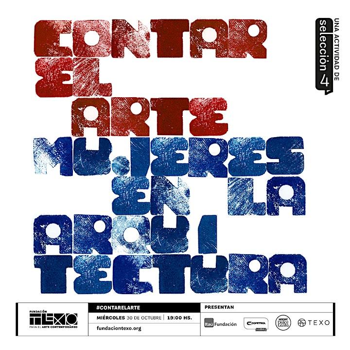 Imagen de #ContarElArte con Mujeres en la Arquitectura