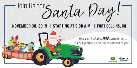 Santa Day with John Deere tickets