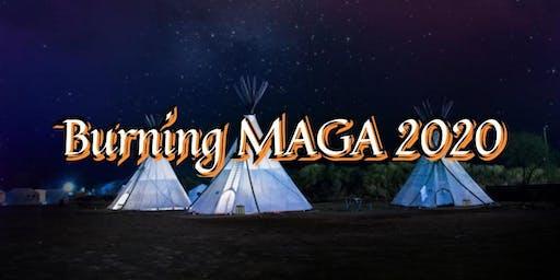 Burning MAGA 2020