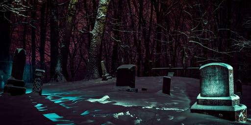 Intro to Light Painting Workshop at Greenlawn Cemetery