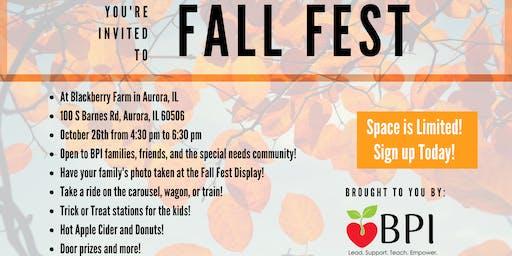 BPI Fall Festival