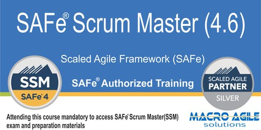 SAFe® Scrum Master with SAFe® 4 Scrum Master Certification