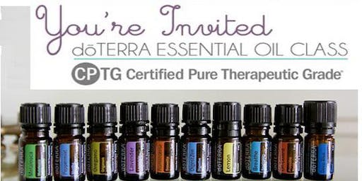 ESSENTIAL OIL EDUCATION CLASS (Evening)