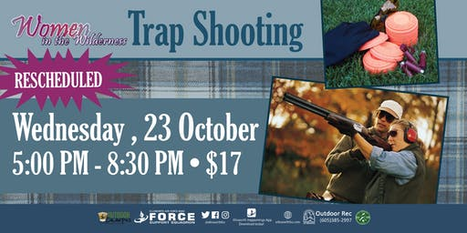 EAFB Women In Wilderness Trap Shooting