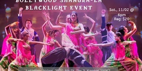 Bollywood Shangra-La Blacklight Event
