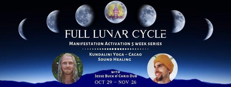Full Lunar Cycle Kundalini Yoga Cacao Manifestation Activation Series