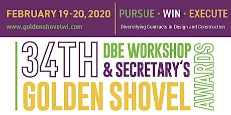 34th Annual DBE Workshop & Secretary's Golden Shovel Awards #GSA2020 tickets