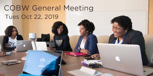 COBW General Meeting