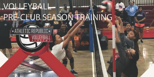 Athletic Republic Volleyball Pre-Club Season Training