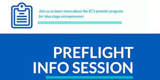 PreFlight & Diversity Scholarship Info Session