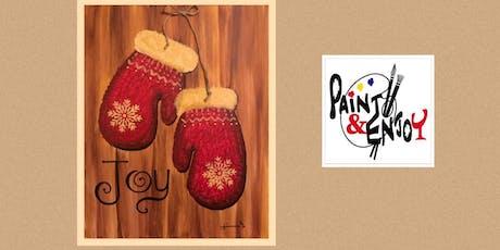 "Paint and Enjoy -New Era Restaurant  ""Mittens"" tickets"