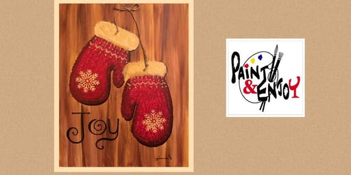 "Paint and Enjoy -New Era Restaurant  ""Mittens"""