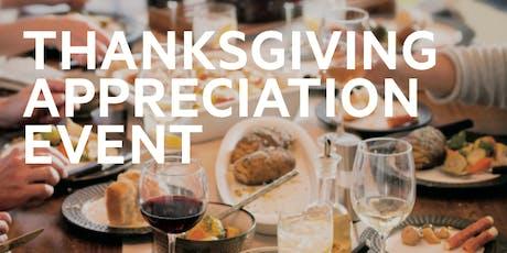 Thanksgiving Appreciation Event tickets