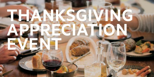 Thanksgiving Appreciation Event