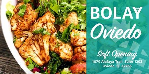 Free Bolay! Bolay Oviedo's Soft Opening