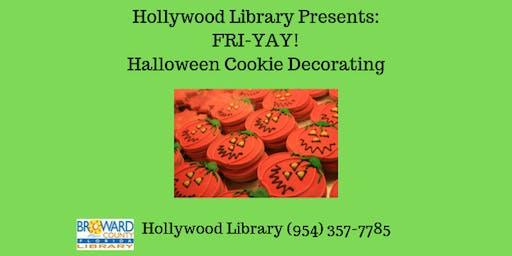 FRI-YAY! Halloween Cookie Decorating
