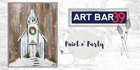 Paint & Sip | ART BAR 39 | Public Event | Country Church tickets