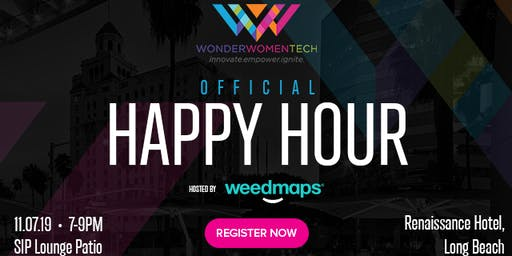 Weedmaps Official Happy Hour for Wonder Women Tech