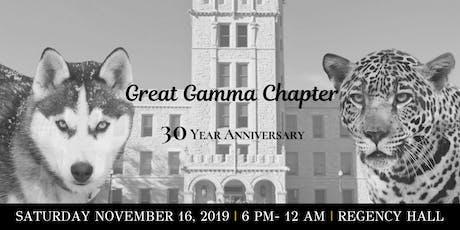 Gamma Chapter's 30 Year Anniversary Celebration tickets
