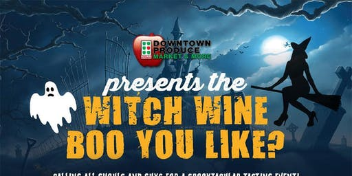 Downtown Produce Halloween Tasting Event