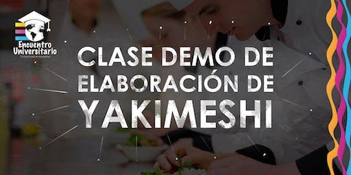 YAKIMESHI (Clase demo de elaboración)